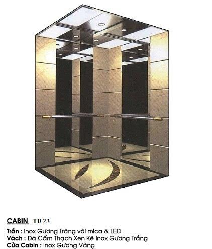 Cabin Thang Máy TĐ 23