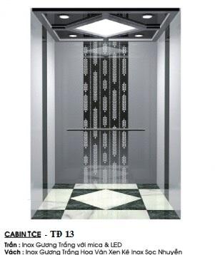 Cabin Thang Máy TĐ 13