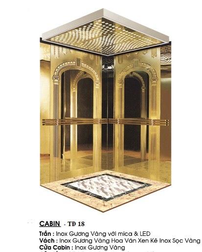 Cabin Thang Máy TĐ 18